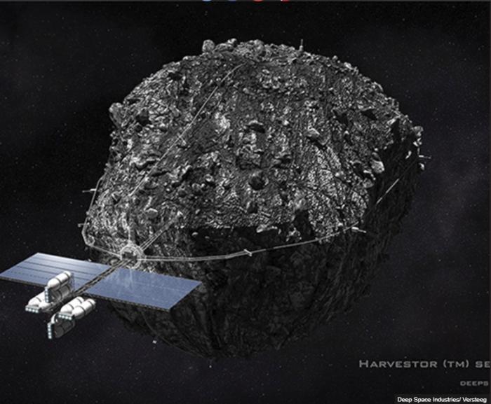 Металлический астероид стоимостью $ 5,4 триллионов, намечен для экспедиции изъятия из космоса