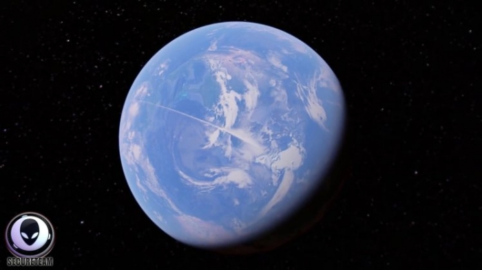 Охотник за инопланетянами заметил огромную «линию» на Google Earth протяженностью 13 000 миль от Южного до Северного полюса