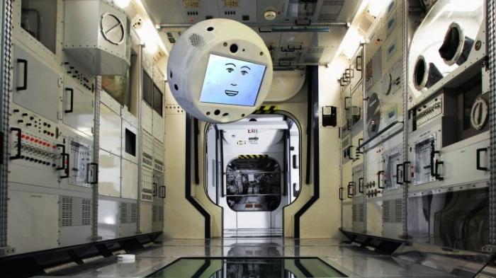 Международная космическая станция получает странного члена экипажа робота по имени Cimon