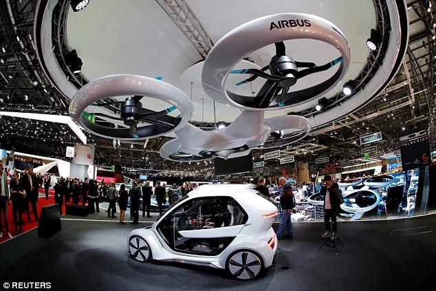Porsche заявляет, что надеется запустить летающее такси в течение десяти лет