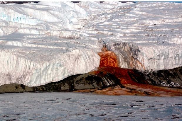 Тайна Кровавого водопада Антарктиды окончательно решена