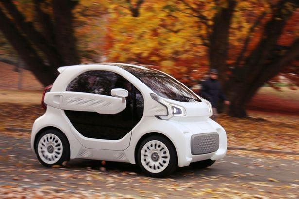 Первый в мире отпечатанный на 3D-принтере электрический автомобиль