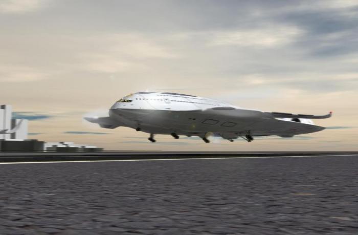 Экологичная концепция самолета может доставить вас до Нью-Йорка за три часа