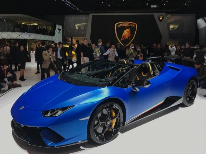 Лучшие новые автомобили на Женевском автосалоне