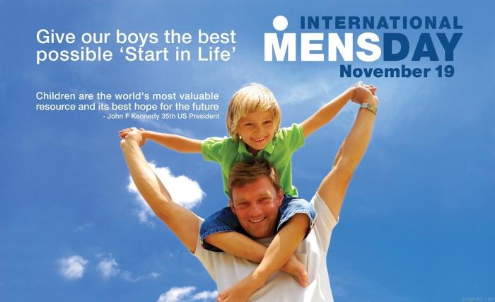 А когда Международный день мужчин? Этот вопрос все задают каждый Международный женский день
