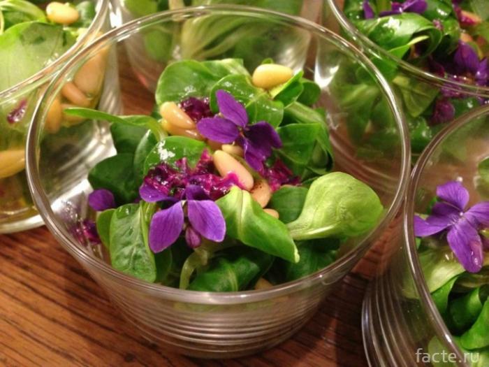 Блюда с цветами