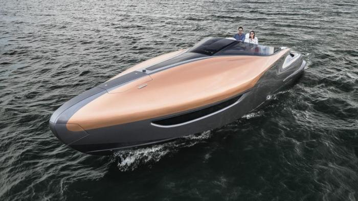 Lexus построит потрясающую новую роскошную спортивную яхту длиной 19,5 метров