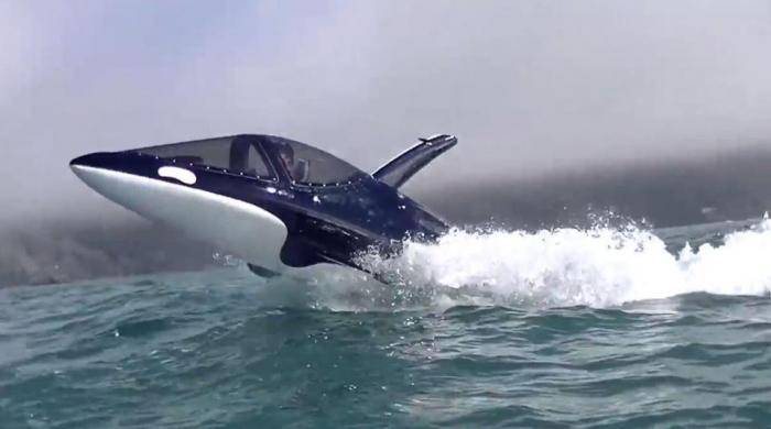 Теперь вы можете владеть личной торпедой стоимостью 70 000 фунтов стерлингов, которая будет мчаться 50 миль в час по воде