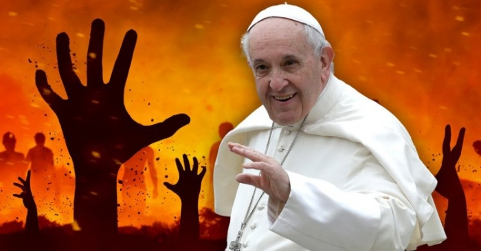 «Ада не существует» - говорит Папа Франци́ск