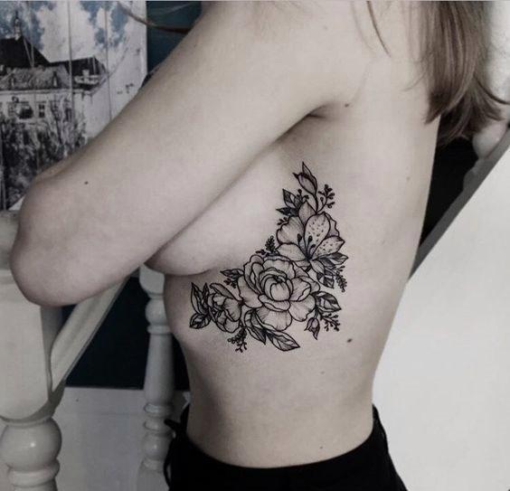 Выполнение наколок вокруг груди – это последний тренд в татуировках