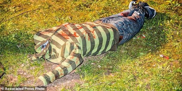 Безголовое и окровавленное «тело», найденное у ручья, вызвало большое полицейское расследование в Германии