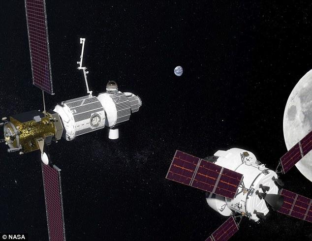 У НАСА появится космическая станция, которую выведут на орбиту Луны в 2025 году, чтобы она действовала, как форпост для космонавтов, отправляющихся на Марс