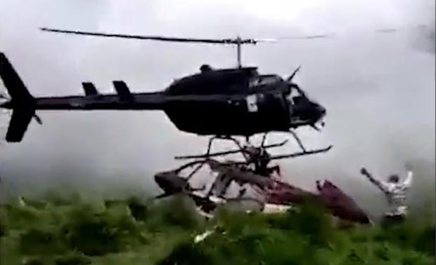 Мужчину убил вертолет, который прилетел, чтобы спасти его
