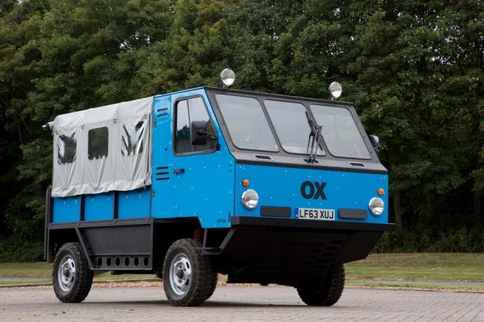Первый грузовик, сделанный по системе флатпак, получивший название «Окс», отправляется в Индию в этом году