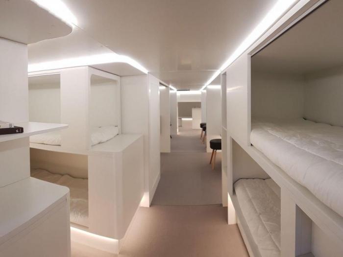 Airbus создаст зоны для сна и игровые площадки для детей в грузовом отсеке самолетов