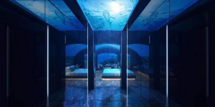 На Мальдивах появился первый в мире гостиничный номер под водой, но он стоит в сутки дороже, чем средняя зарплата в Великобритании