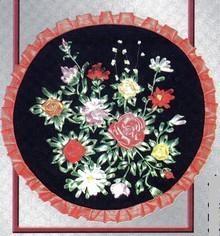Вышивка с помощью лент