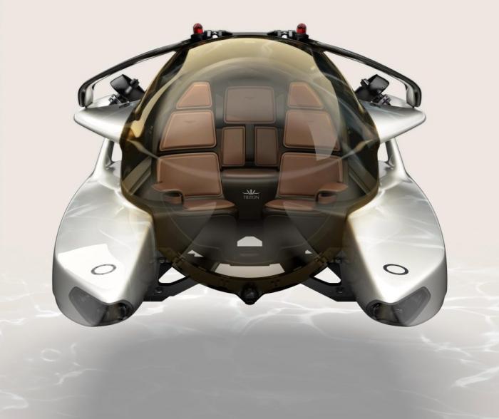 Aston Martin показывает свою новую роскошную модель, получившую название «Project Neptune»