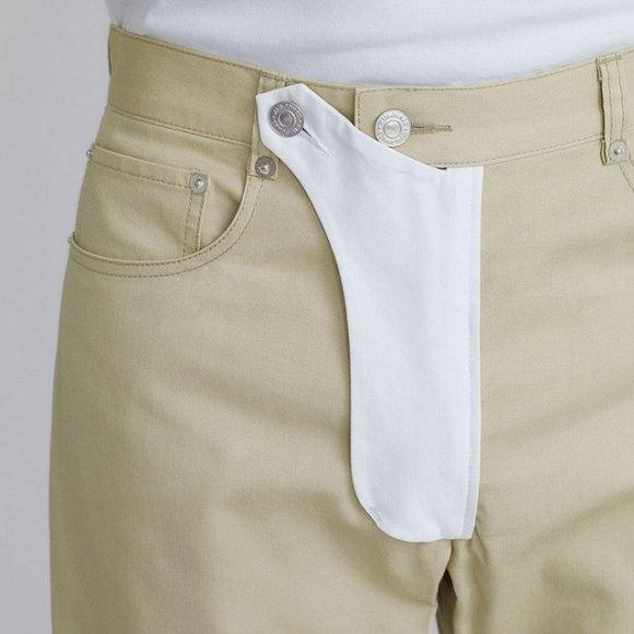 Следующая горячая мужская тенденция - это брюки с карманом для пениса