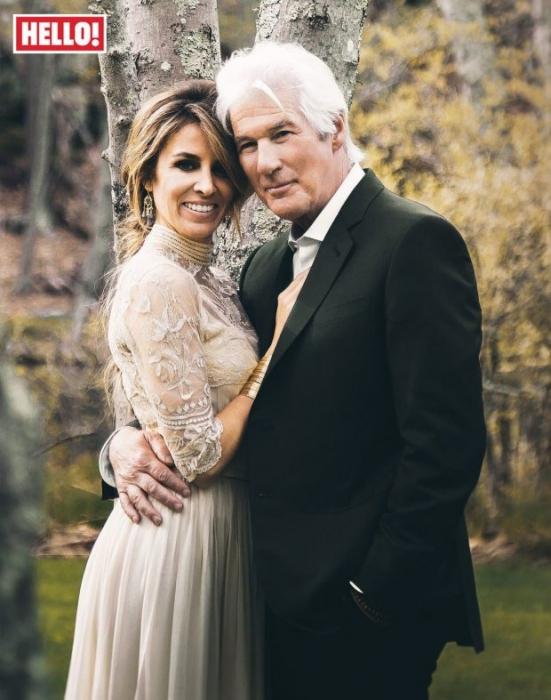 «Я самый счастливый человек во вселенной», Ричард Гир женится на 35-летней подруге Алехандре Сильве