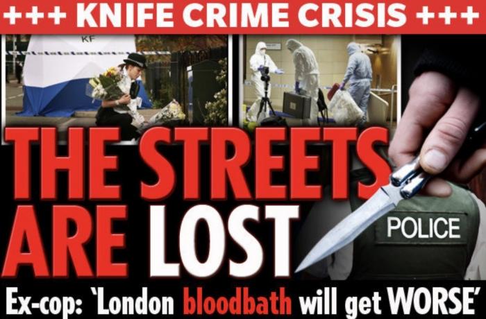 «Улицы мы уже потеряли» бывший полицейский предупреждает, что лондонский бандитизм будет становиться только хуже с каждым днем