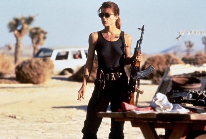 Посмотрим на возвращение Линды Гамильтон в Терминатор 6 через 34 года