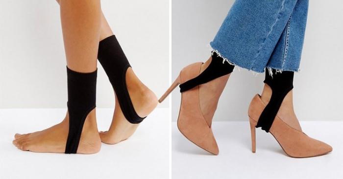ASOS продает какие-то странные носки-стремена, чтобы надевать на ваши каблуки
