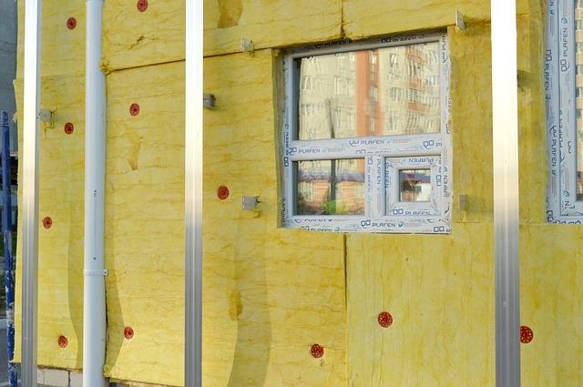 Применение минеральной ваты для утепления стен