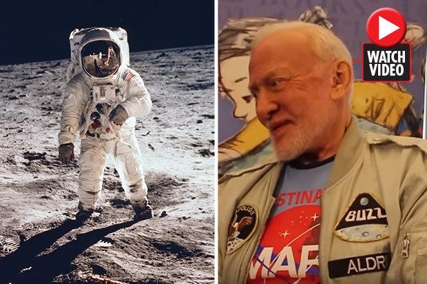 Базз Олдрин сообщил: «Мы не летали на Луну»