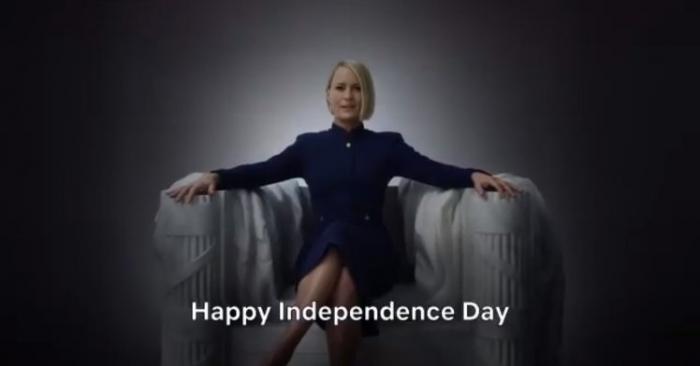 «Карточный домик» приманывает «независимостью» Клэр Андервуд в заключительных сериях после того, как Кевина Спейси отлучили от съёмок