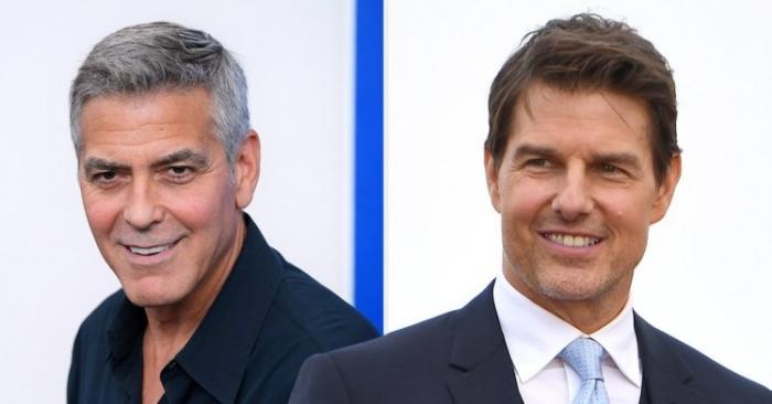 Том Круз предупреждает друга Джорджа Клуни «будь осторожен» после крушения байка