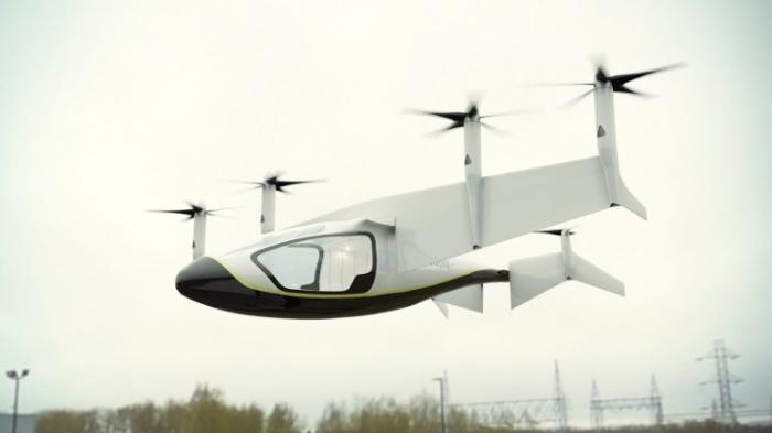 Такое летающее такси сможет доставить вас домой из паба в течение ближайшего десятилетия
