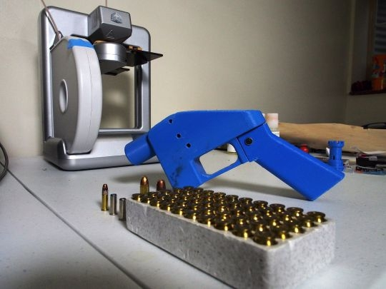Что такое пистолет отпечатанный на 3D-принтере, как он работает и почему так пугает?