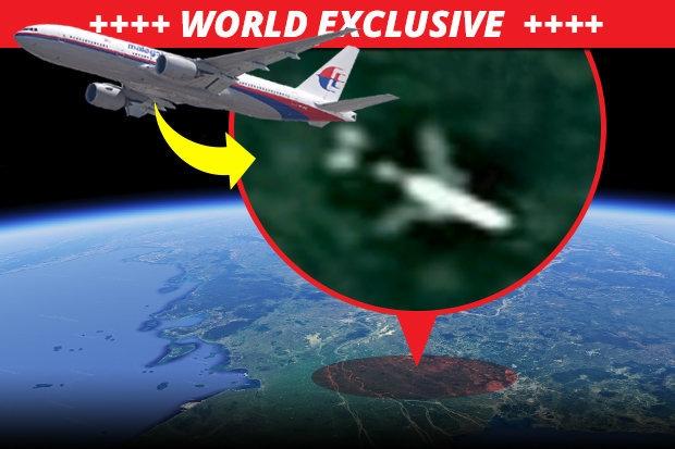 Неужели MH370 найден в Камбоджийских джунглях? Начался поиск, потому что Google Maps обнаружили «Место крушение какого-то Боинга»