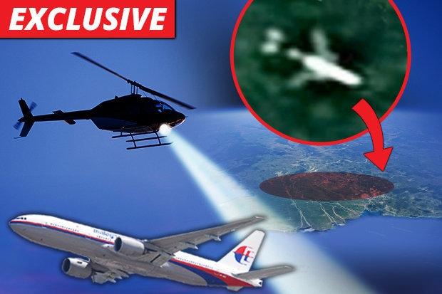 Поиск рейса MH370 - вертолет сел на «место крушения в джунглях», гонка за вознаграждением в £ 54 млн (продолжение)