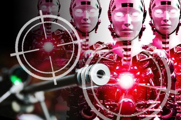 Роботы Асасины, которые будут продаваться на Черном рынке, рекламируются, как «неотслеживаемые убийцы»