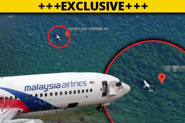 Новые фотографии MH370 на Google Maps