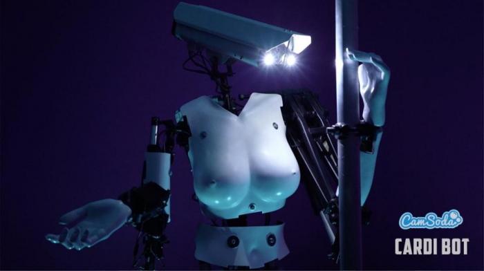 Сайт для секс веб-камеры пригласил РОБОТА-стриптизершу, чтобы привлечь зрителей