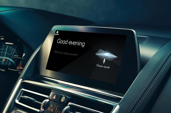 В 2019-м году BMW представит голосового помощника.