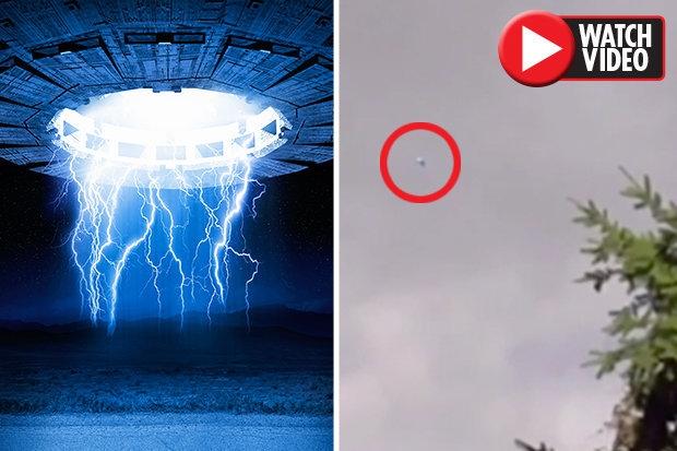 Необычный «голубой летающий объект», попал на камеру над Лондоном. Неужели это реальное НЛО?