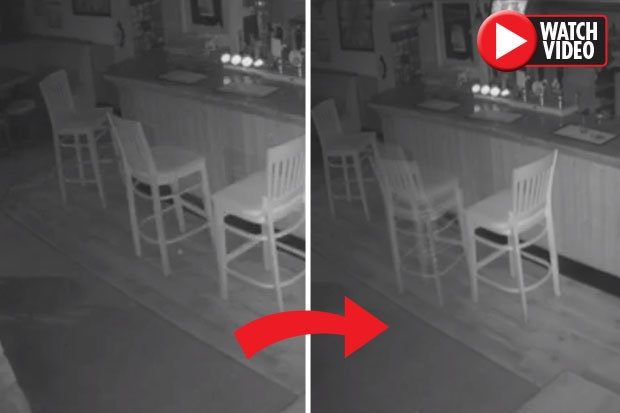 Хозяин паба установил видеокамеру наблюдения для мониторинга бара глубокой ночью - то, что он увидел, поразило его