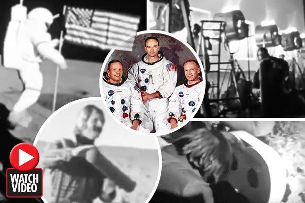 Высадка астронавтов НАСА на Луне была сфабрикована. Видео съемочной группы для астронавтов вызвало бешенство
