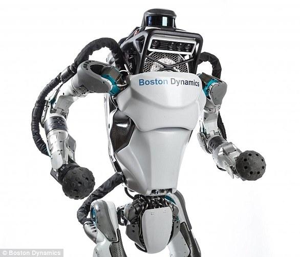 Робот Атлас, любящий паркур, теперь может бегать и прыгать через препятствия