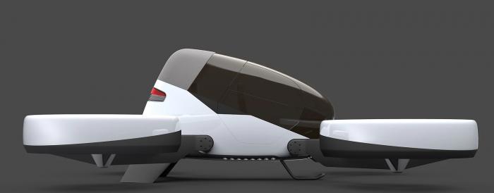 Автономный летательный аппарат вертикального взлета будет готов к 2020 году