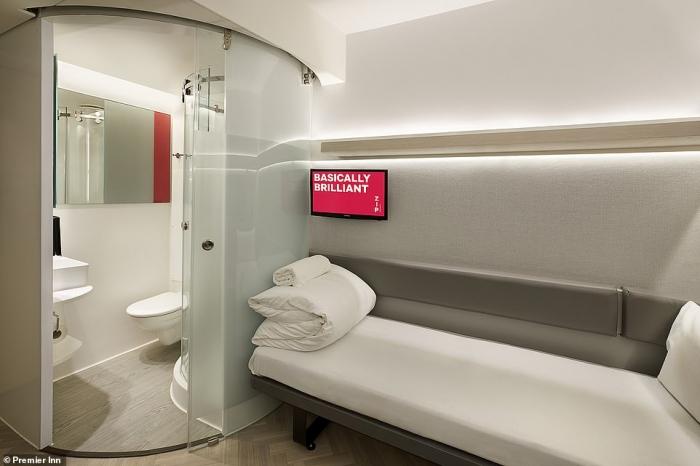 «Премьер-Инн» представляет подкатегорию гостиничной сети, где комнаты стоят 19 фунтов стерлингов менее половины обычной цены