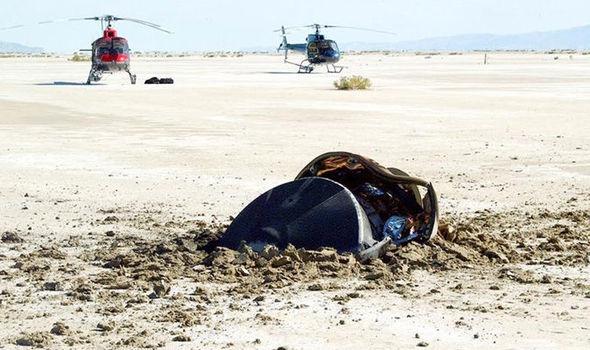 НАСА нарушает молчание об обломках космического корабля разбившемся в 2004 году