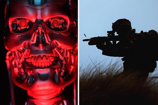 Англия показала своего робота убийцу для армии на испытаниях оружия для ИИ