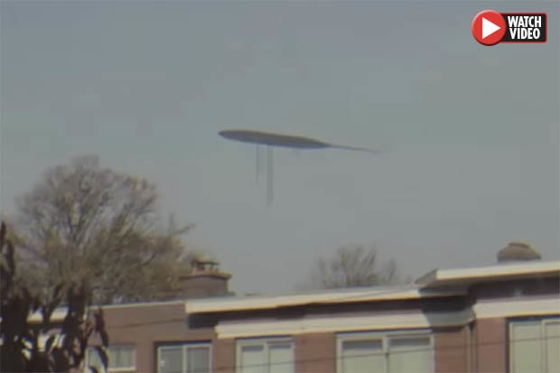 Инопланетяне уже здесь, гигантское НЛО был замечен в небе