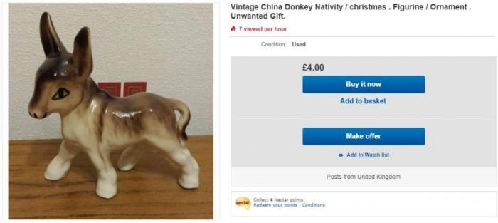 Все непонравившиеся рождественские подарки уже продаются на eBay в интернете