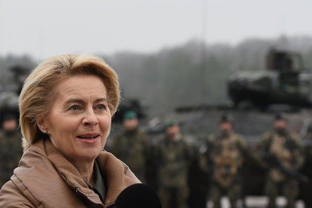 Германия вербует солдат из остальной части Евро Союза для усиления своей военной мощи